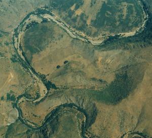 Meandro abandonado patones