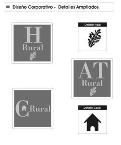 Logos alojamientos rurales Madrid