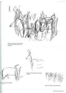 Dibujos en la roca