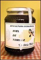 Miel de tomillo de Patones